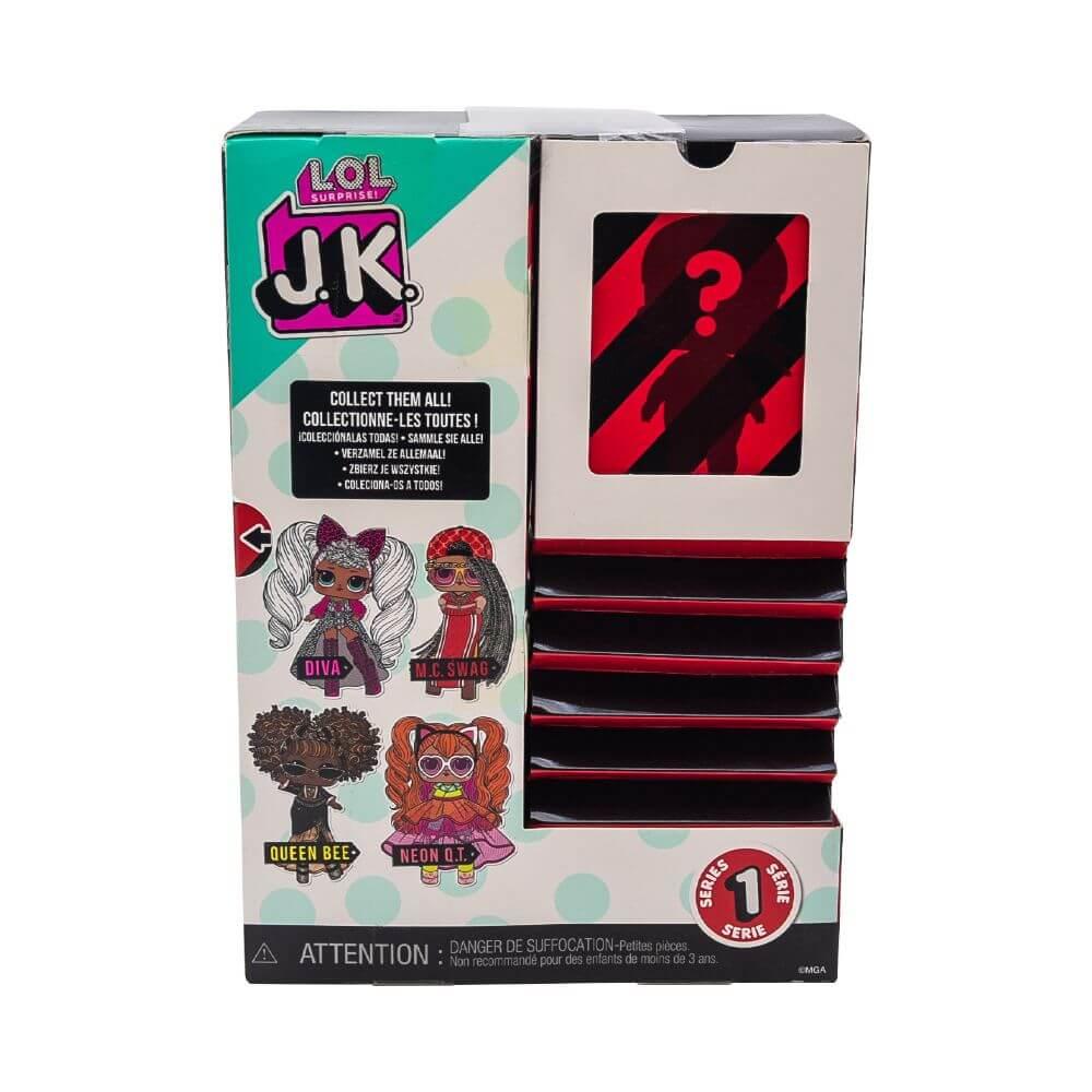 Кукла LOL Surprise Mini Fashion Doll (Мини модницы) JK M.C. Swag с 15 сюрпризами - 4