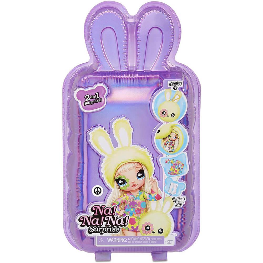 Кукла LOL Surprise Na! Na! Na! Surprise PLUSH COLLECTIBLE 4 Серия с мягкими куклами внутри - 3
