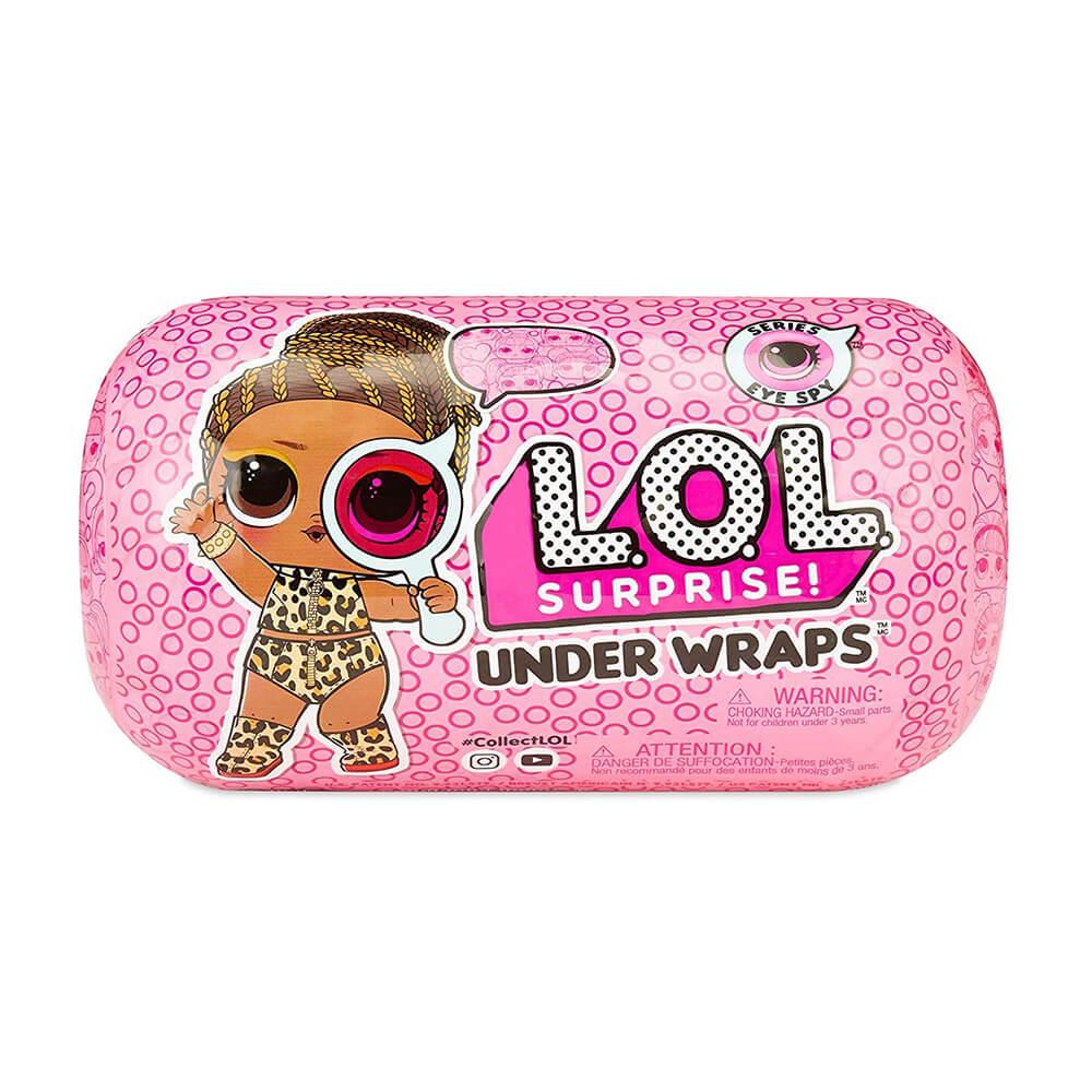 Кукла LOL Under Wraps капсула 4 серия Декодер 2 волна